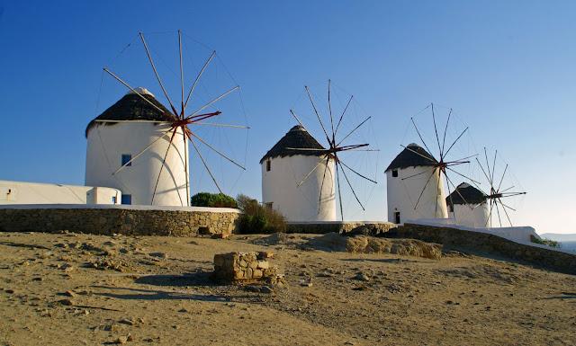 Mykonos Iconic Windmills