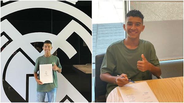 Oficial: El hijo del Gato Romero deja el Málaga por el Real Madrid