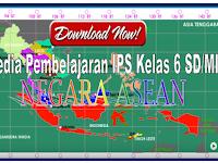 Download Media Pembelajaran  IPS Negara-Negara ASEAN Kelas 6 SD/MI