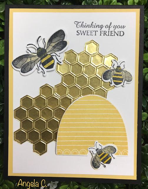 Stampin' Up!, Honey Bee, www.stampingwithsusan.com, 2020 January-June Mini Catalog,