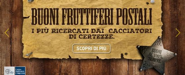 Calcolo Rendimento Buoni Fruttiferi Postali 2017