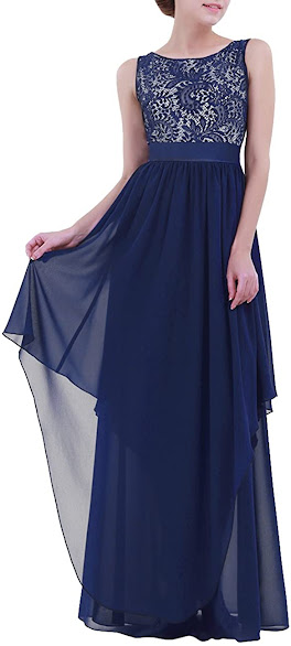 Cheap Lace Chiffon Bridesmaid Dresses