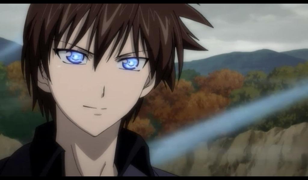 brown eyes male anime hair Brown