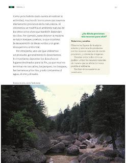 Apoyo Primaria Ciencias Naturales 3ro Grado Bloque II Tema 2 La satisfacción de necesidades básicas