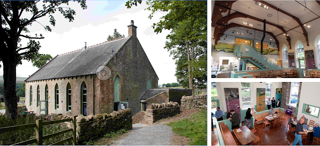 Bowlees visitor centre and car parking