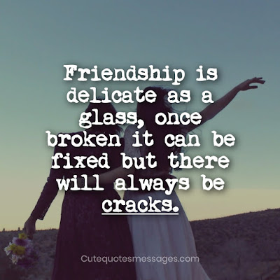 sad friendship status