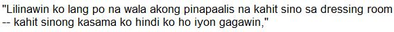 CONTROVERSIAL: Cristine Reyes calls Ms. Vivian Velez a liar!