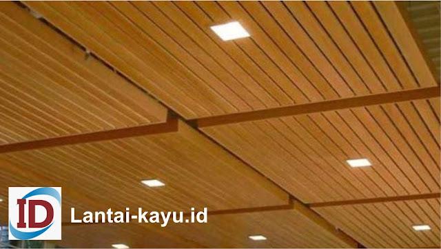 lumber ceiling