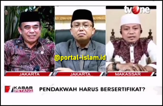 Nampol Menag! Ustadz Das'ad Latif: Sertifikasi Da'i Kalau Diurus Negara, Nanti Ditumpangi Kepentingan Politik!