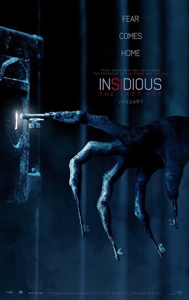 Poster Insidious The Last Key 2018 Full Movie Free Download Hindi 300Mb