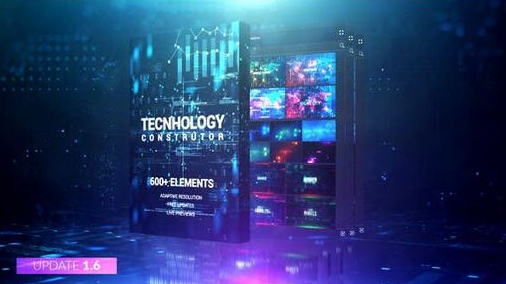 VideoHive – Technology Constructor v 1.6 – 25146667 [ZXP, AEP]