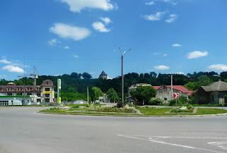 Галич. Дорожное кольцо и Старостинский замок на Галич горе