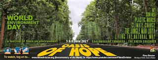 """फिल्म प्रभाग द्वारा विश्व पर्यावरण दिवस के उपलक्ष्य में """"प्रकृति के संग : पर्यावरण पर फिल्मोत्सव"""" का 5-6 मई, 2021 के दरम्यान आयोजन Film News"""