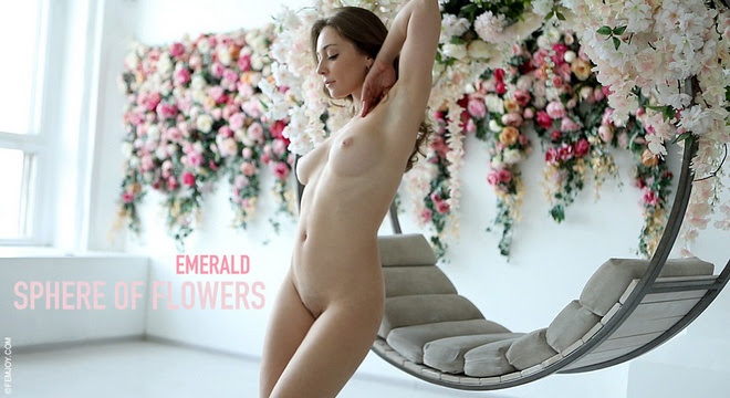 [FemJoy] Emerald - Sphere Of Flowers sexy girls image jav
