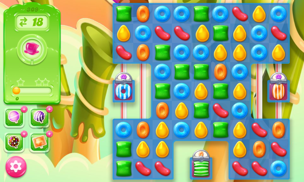 Candy Crush Jelly Saga 309