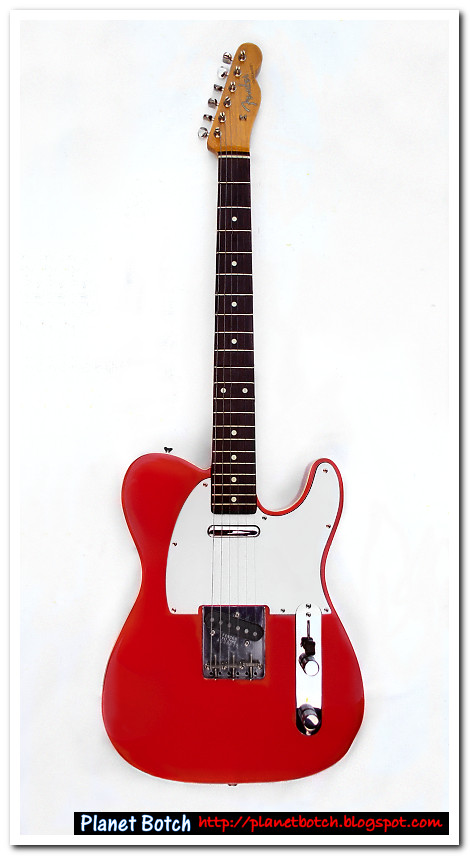 Candy Apple Red 1985 Custom Telecaster