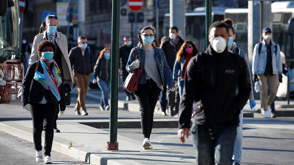 Italy is leading Europe in easing lockdown measures aimed at containing the spread of the new coronavirus