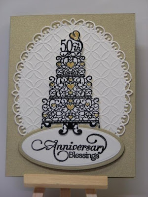 ODBD Anniversary Blessings, ODBD Customer Card of the Day Created by Maria aka maria116