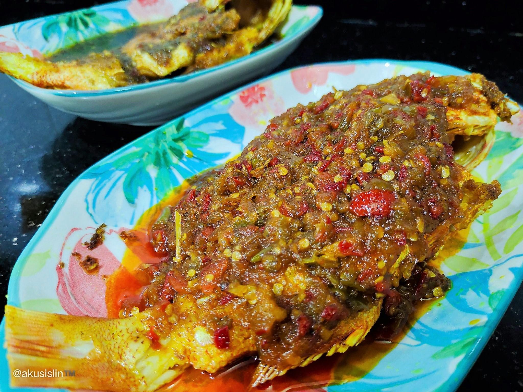 Ikan Merah Masak Dua Rasa