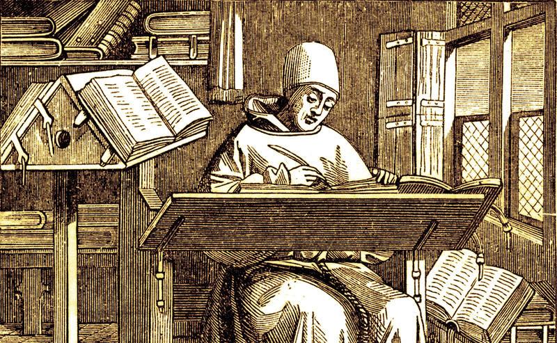 medieval scribe