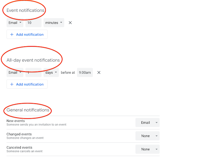 Stay informed when someone subscribes to notifications of your Google Calendar 1