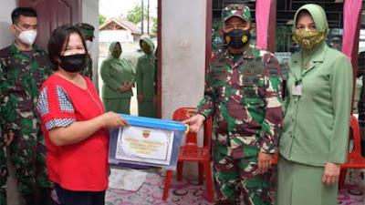Momen HUT Kodam I/BB ke-71, Pangdam dan Ketua Persit KCK Berkunjung ke Panti Asuhan