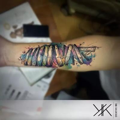Interesting Tribal Forearm Tattoos