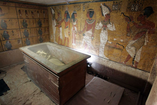 New survey confirms no hidden Nefertiti chamber in Tutankhamun's tomb