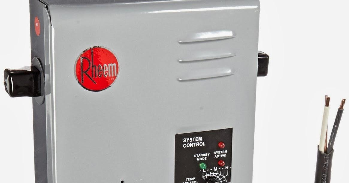 Water Heaters Buy Rheem Rte 13 Electric Tankless Water
