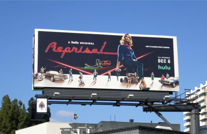 Reprisal TV series billboard
