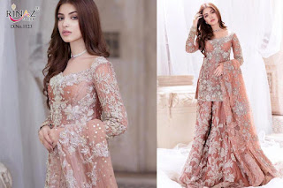 Rinaz Fashion Rim zim vol 3 pakistani Suits