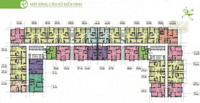 Thiết kế chi tiết chung cư Ecohome 3