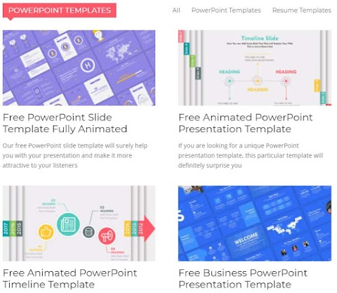 Plantillas modernas GRATIS para Microsoft Powerpoint y Google Slides