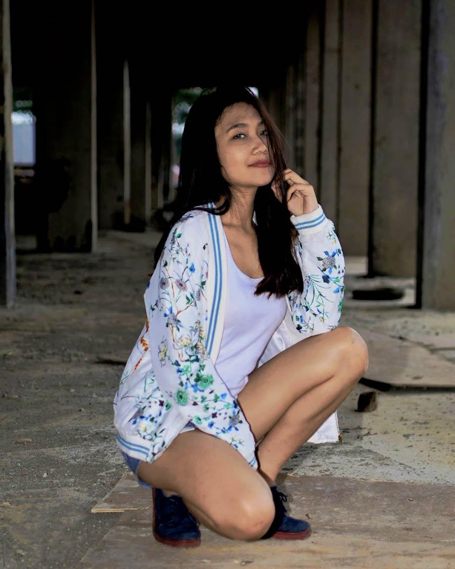 foto model IGO seksi Nanda Cewek kampus malang
