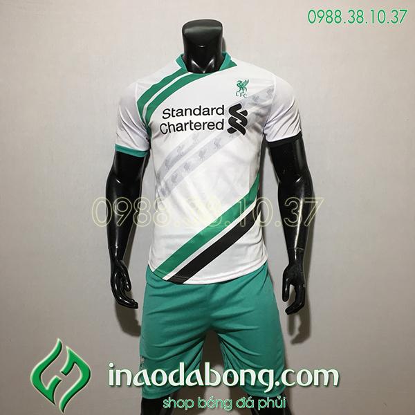 Áo Bóng Đá CLB Liverpool Màu Trắng 2020 Đẹp