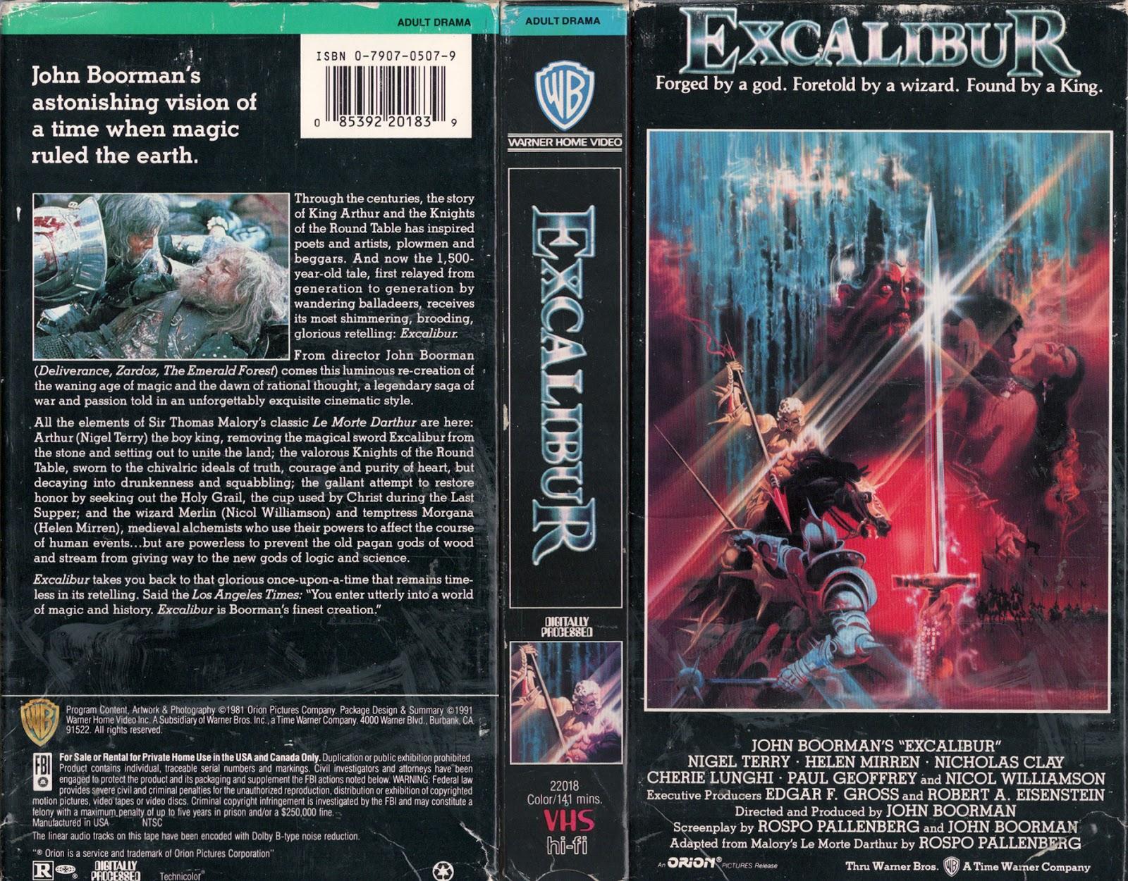 Excalibur adult movies