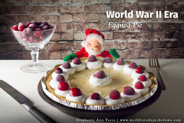 World War 2 Christmas recipe