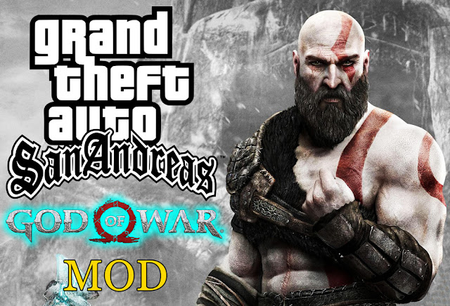 GTA San Andreas God Of War Mod