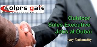 Outdoor Sales Executive Jobs Recruitment In Dubai 2021