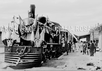 1910 - Viaje Inaugural (Actualmente Ciudad Universitaria)