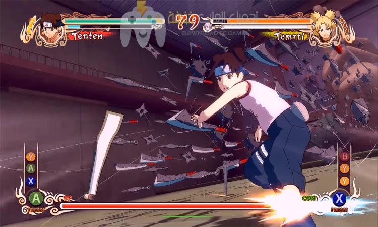 تحميل لعبة Naruto Shippuden Ultimate Ninja Storm 1 للكمبيوتر بحجم صغير