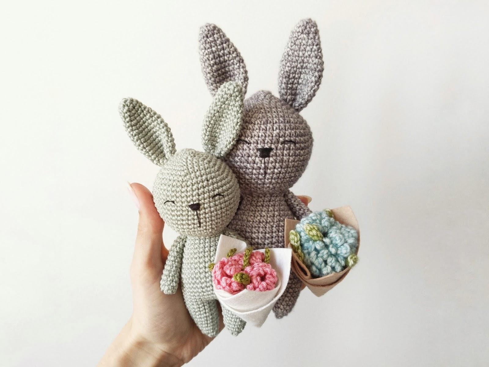 Amigurumi Sweetheart Plush Bunny Crochet Free Patterns - Crochet ... | 1200x1600