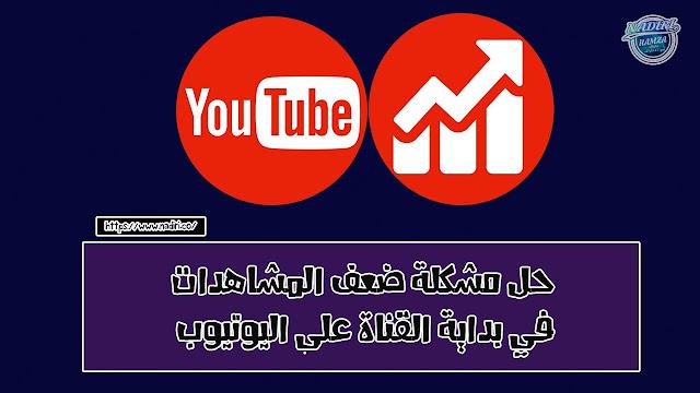 حل مشكلة ضعف المشاهدات في بداية القناة على اليوتيوب |  بناء قناة ناجحة