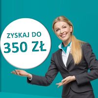 Jesienne korzyści do 350 zł za konto w Credit Agricole