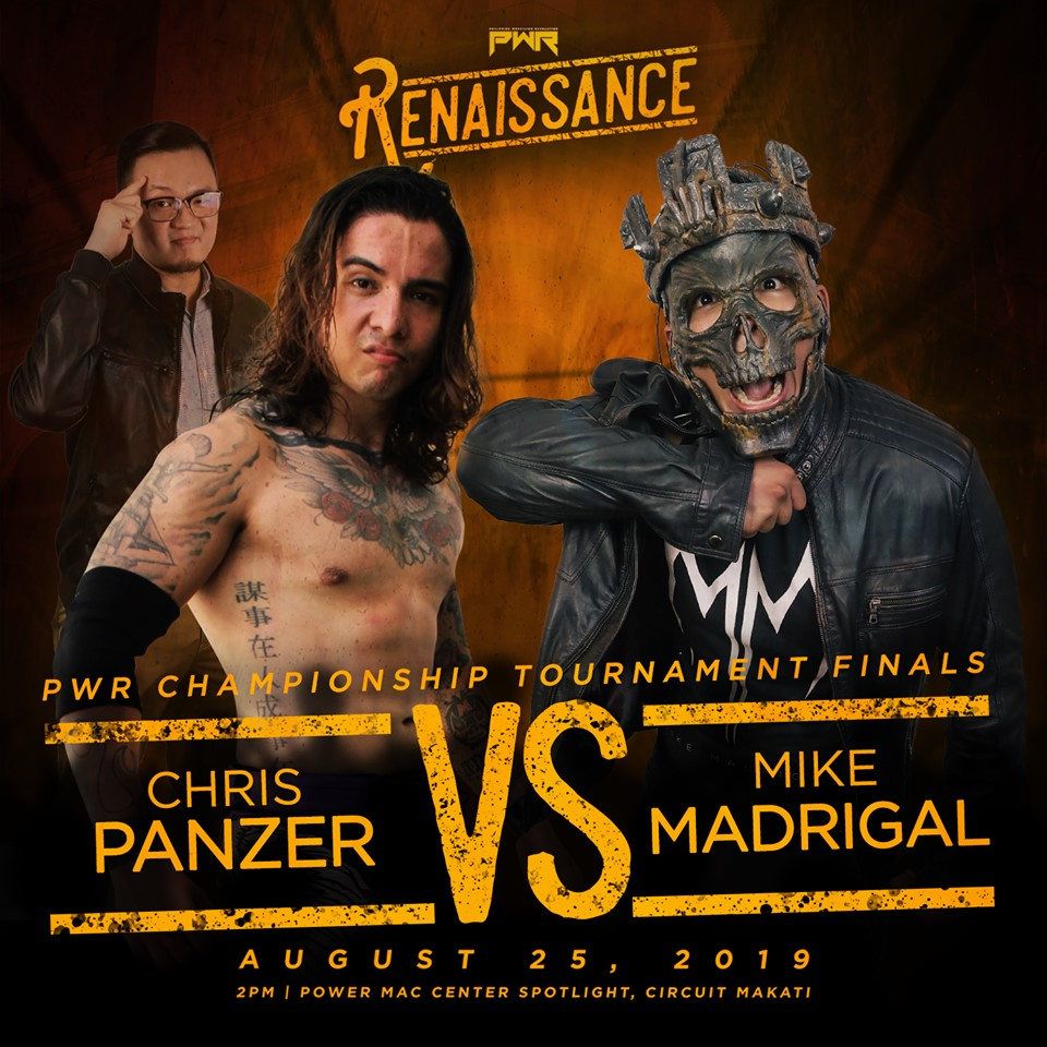PWR Renaissance Predictions: Chris Panzer vs. Mike Madrigal