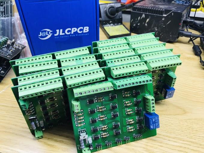 Nhận làm Vẽ mạch in - Làm PCB - hàn linh kiện