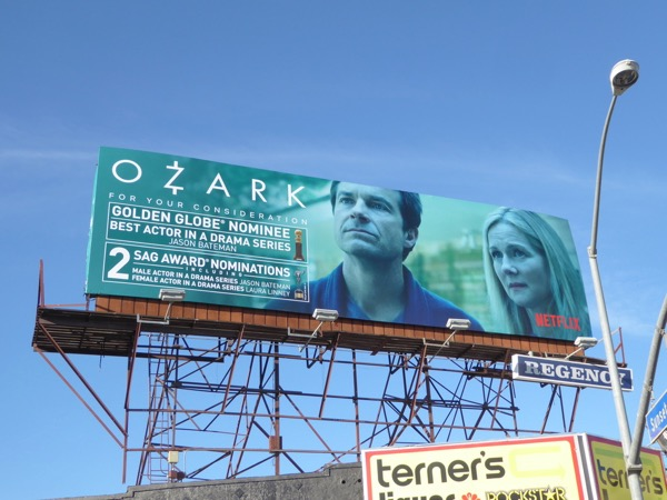Ozark season 1 Award nominations billboard