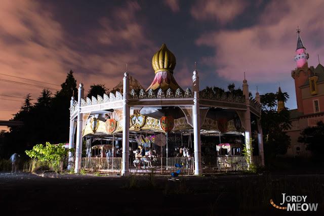 夢が終わる時。廃墟、奈良ドリームランドの美しい写真