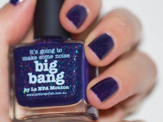 Big Bang : Le sublime vernis venu d'une autre galaxie