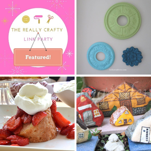The Really Crafty Link Party #201 featured posts